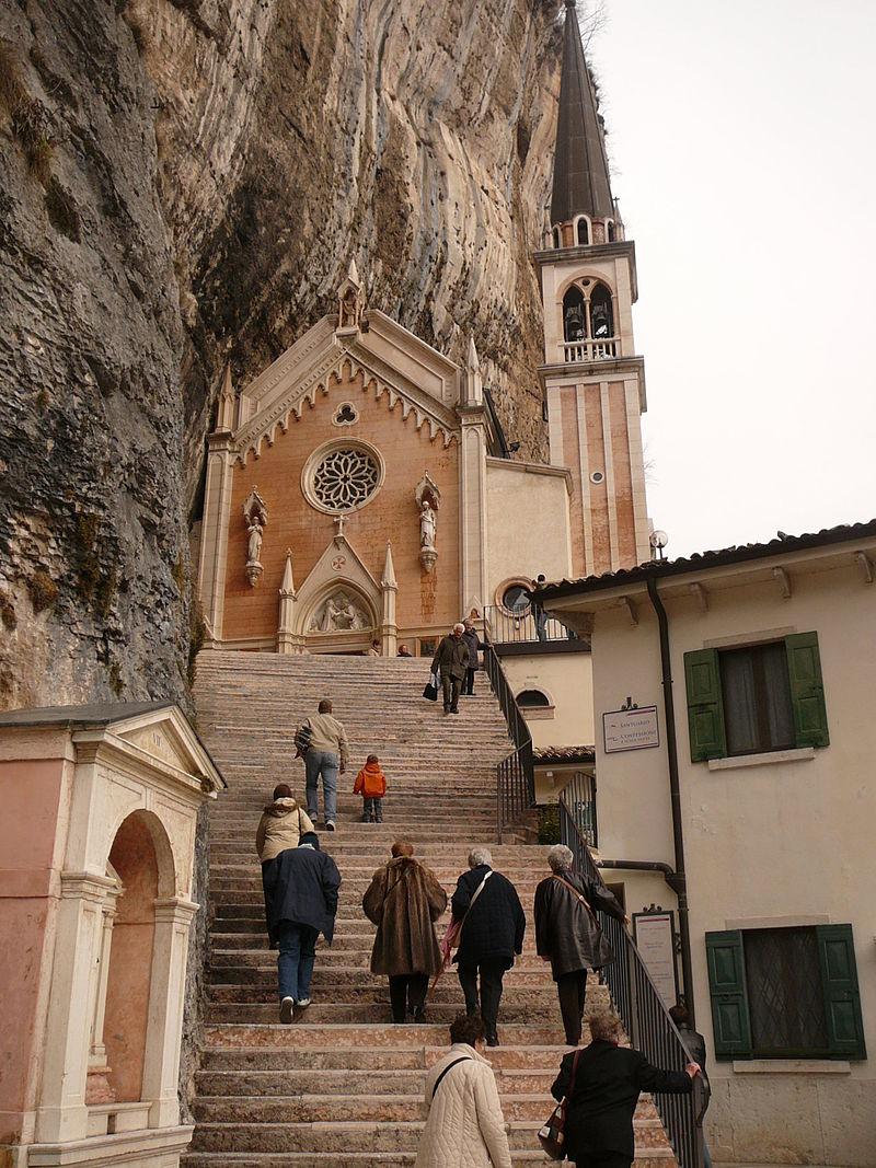 Stairs - Madonna della Corona